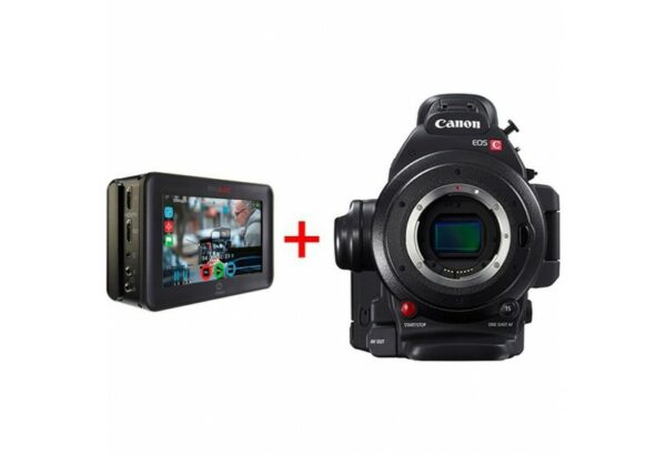 Canon EOS C100 Mark II Cinema EOS Camera and Atomos Ninja Blade