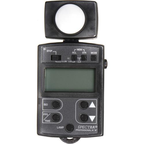 Spectra Cine Professional Iv A Digital Exposure Meter